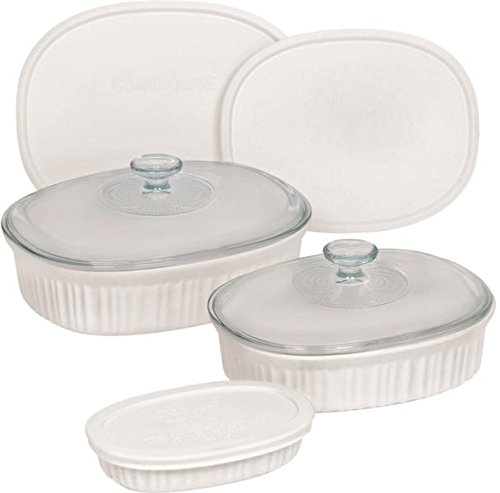 baking dish ceramic with lid - 4