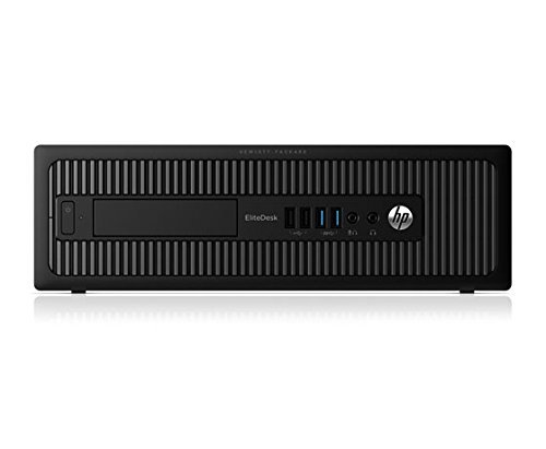 HP ELITEDESK 800 G1 SFF Slim Business Desktop Computer, Intel I54570 3.20 GHz, 8GB RAM, 500GB HDD, DVD, USB 3.0, Windows 10 Pro 64 Bit (Certified Refurbished)