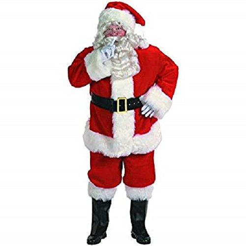 Professional Santa Claus Suit Adult Costume - (Professional Santa Claus Suits)