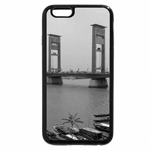 iPhone 6S Plus Case, iPhone 6 Plus Case (Black & White) - ampera
