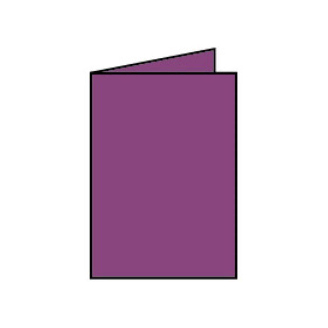 Rössler Papier - - Paperado-Karte DIN A6 hd, Cassis B07CX7JBQV | Schöne Farbe