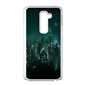 LG G2 Cell Phone Case White_Bioshock Rapture FY1575876
