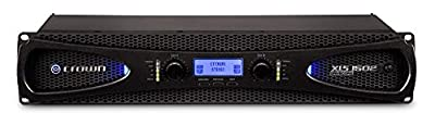 Crown XLS1502 Two-channel, 525W at 4? Power Amplifier from Crown