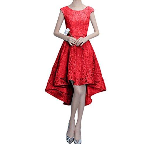 Perlen Ausschnitt Rot Damen Partykleider Spitze A Rosa Figurbetont Linie Traumhaft Lang Abendkleider Charmant 87wqdznq