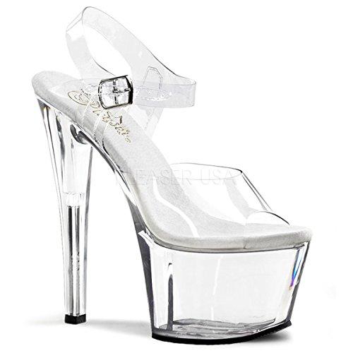 Ankle Sandal 308 SKY Strap Pleaser PF Heel DEMONIA 7
