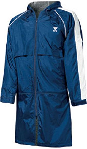 TYR Youth Alliance Parka, Navy, Large by TYR Alliance Team Parka