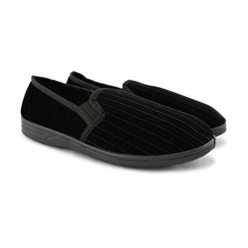 Footwear Sensation - Zapatillas Bajas hombre Albert Black