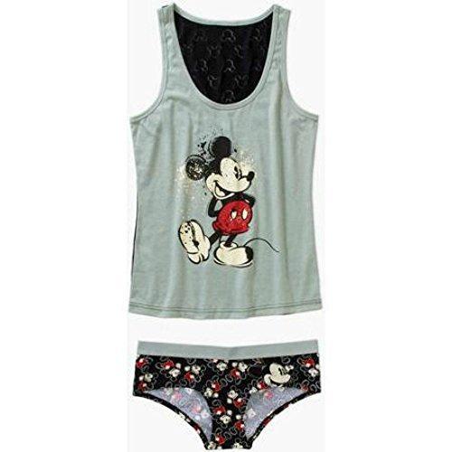 Disney Mickey Mouse Cami and Panty Sleep Set For Women (XXL)