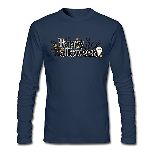 MAT Q VO Men's Happy Halloween Long Sleeve T Shirts/Tee]()