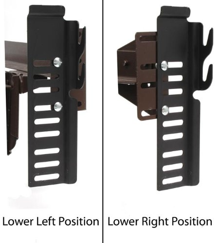 #65 Adapto-Hook Bolt-On to Hook-On Conversion Brackets for Headboard /& Footboard Attachment Set of 2