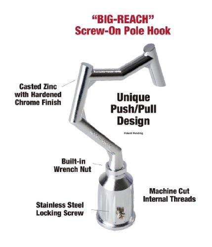Amazon.com : BIG-REACH Pole Hook (NEW!) : Coat Hooks : Patio, Lawn ...
