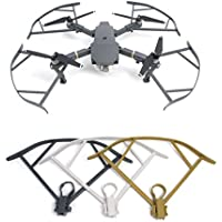 Drone Fans 4pcs/set Not Affect Obstacle Avoidance Mavic Pro Propeller Guard Blades Bumper Prop Protector for DJI Mavic Pro Drone (Gray White Golden)