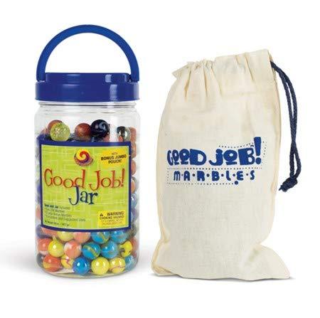 (MegaFun USA Good Job Jar with Mega Marbles)