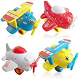 3 Bees & Me Airplane Toys for Toddlers - 4 Airplanes Toy Travel Set for Boys and Girls