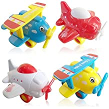 3 Bees & Me Airplane Toys for Toddlers - Set of 4 Toy Airplanes for Boys and Girls - Fun Travel Toys