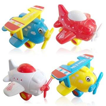 3 Bees & Me Airplane Toys for Toddlers - Set of 4 Toy Airplanes for Boys and Girls - Fun Travel Toys (Airplane Travel Toys For)