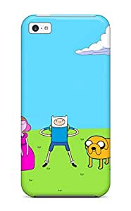 Iphone 5c Case Slim [ultra Fit] Adventure Time Protective Case Cover