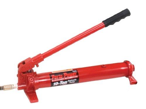 "UPC 047077042441, Porto-Power B65188 Porto-Power 10 Tons Hydraulic Pump, 5.75"" Height, 7.25"" Width, 18"" Length"