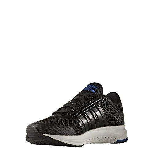 adidas Cloudfoam Saturn, Chaussures de Tennis Homme, Noir (Negbas/Negbas/Azul), 46 EU