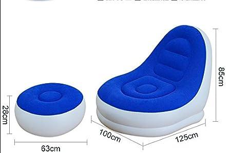 WHH/sofá cama hinchable portátil Siesta al abierto sofá/cama ...