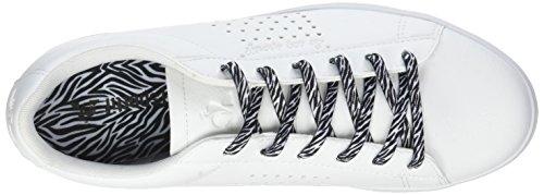 Le Animal Black Blanc Blanco Mujer Sportif Zapatillas para Black Agate White Optical COQ Optical White rqCBr
