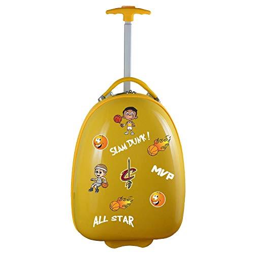 Denco NBA Cleveland Cavaliers Kids Lil' Adventurer Luggage Pod by Denco
