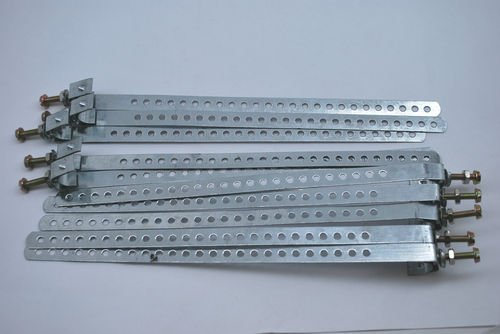 LOT OF 10 GALVANIZED STEREN GROUND STRAPS 10 200-283 10-14 AWG GROUND (12 Adjustable Pipe)