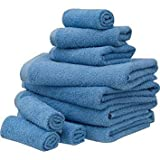 Mainstays Value 10-piece Towel Set, Office Blue