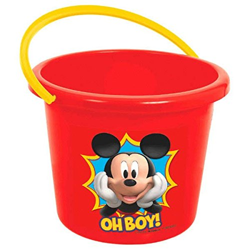 amscan Oh Boy! Mickey Jumbo Container | Party Favor]()