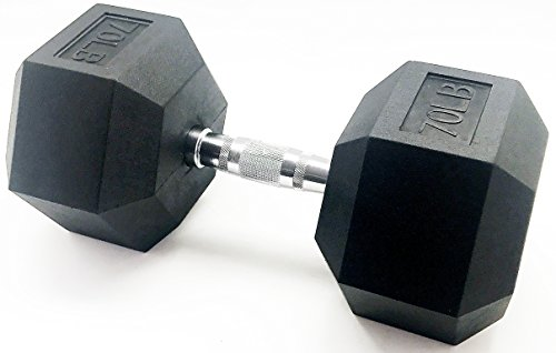 BalanceFrom GoFit All-Purpose Weights, Dumbbell, 70 pounds (Dumbbell 70lb)