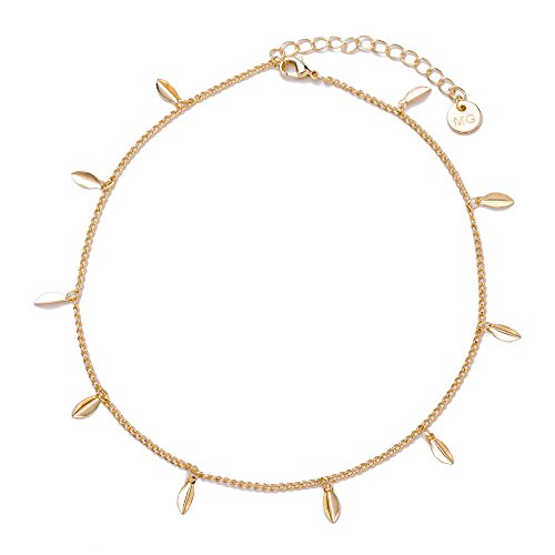 JIN European and American fashion The simple rice harvest 亮 necklace choker 项 clavicle Necklace Pendant Necklace For -