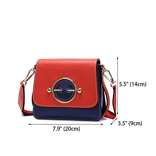 Pu Roze Dames Schouder Tassen Royal kleur Hobos Yisaesa voor Roze Blue Top Handvat Leer 4w80a