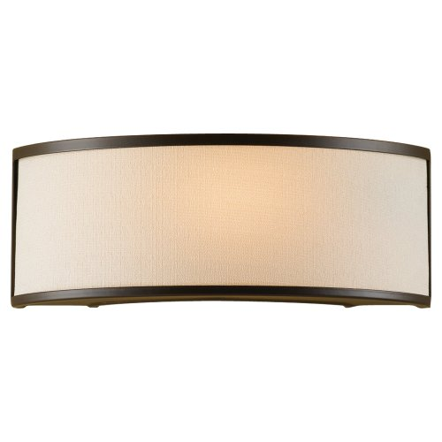 Feiss WB1461ORB 1-Bulb Wall Sconce, Oil Rubbed Bronze Finish