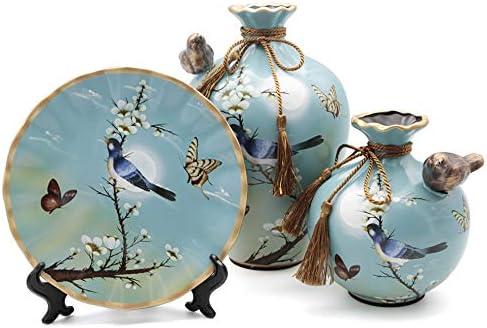 NEWQZ Ceramic Vase Set of 3