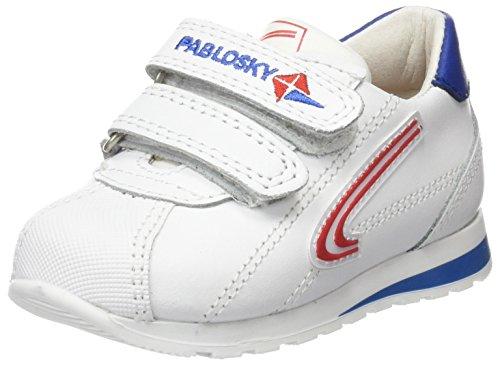 Pablosky 259801, Zapatillas para Niños Blanco (1)