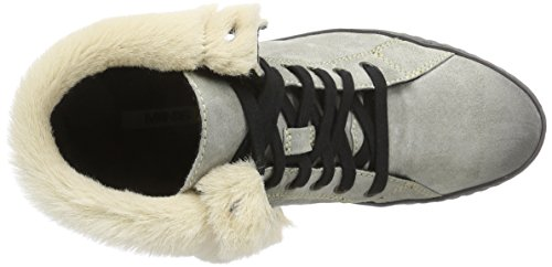 Olli Distressed Fumo Women's Nero Boot Suede Manas pvwafx