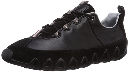 Ecco Dayla Black/Black Suede/Feather, Baskets Basses femme Noir - Schwarz (Black/Black Suede/Feather51707)