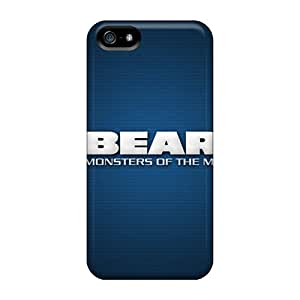 Shock-dirt Proof Chicago Bears Case Cover For Iphone 5/5s