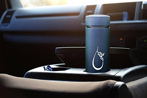 Last Drop Stylish Water Bottle---the best vacuum insulated water bottle coffee mug made from stainless steel16oz double wall matte color leak-resistant keep cold for 24hrs and hot for 12hrs by LAST DROP (Image #7)