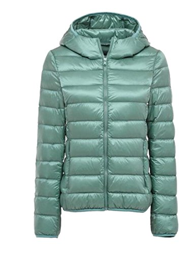 Gocgt Light Coats 13 Puffer Ultra Hooded M Winter Women's Down P0twqRr0x
