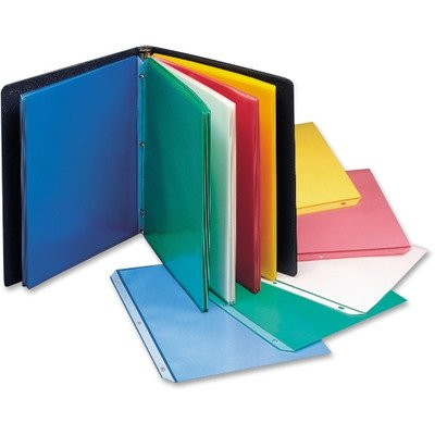 Amazon.com : CLI62010 - C-Line Colored Polypropylene Sheet Protector ...
