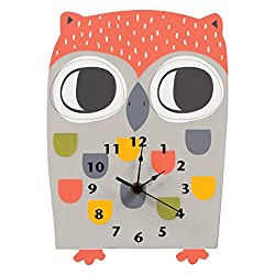 Trend Lab Olive Owl Wall Clock, Multi