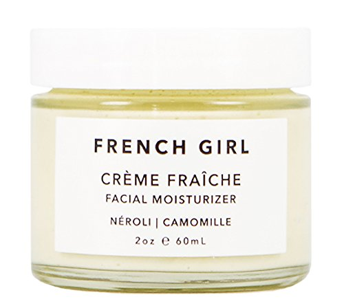 French Girl Organics - Organic/Vegan Neroli Creme Fraiche Facial Moisturizer (2 oz)