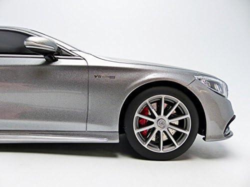 /Mercedes S63/AMG Coupe/ /Echelle 1: 18/Silver GT Spirit GT063/ /2015/