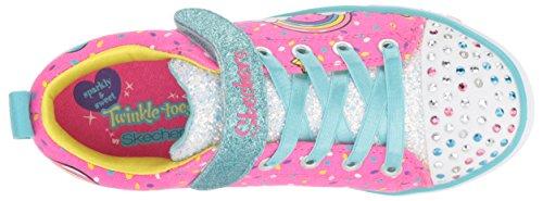 Craze unicorn multi Para Skechers Lite Pink Neon Zapatillas Niñas Sparkle wtEHOqB