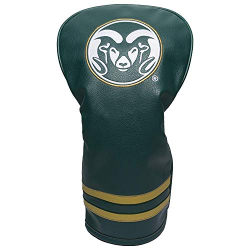 (Team Golf NCAA Colorado State Rams Vintage Driver Golf Club Headcover, Form Fitting Design, Retro Design & Superb Embroidery)