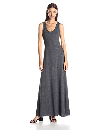 Alternative Women's Racerback Maxi Dress, Eco True Vintage Black, X-Large