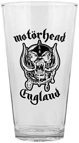 Motorhead England Drinking Glass