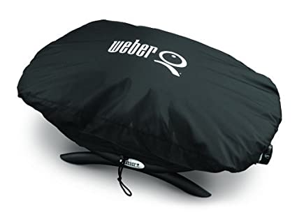 Weber Elektrogrill Unterschied Q 1400 Q 2400 : Amazon.com : weber 7110 grill cover for q 100 1000 series gas grills