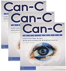 [해외]CAN-C 눈 드롭 2X 5ml Vials-3 팩 Can-C 제품 / CAN-C Eye Drops 2X 5ml Vials - 3 Pack by Can-C
